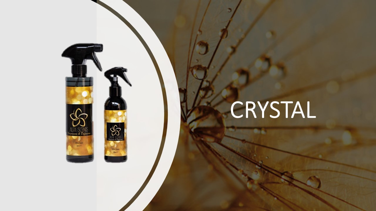 Spray d'ambiance Crystal